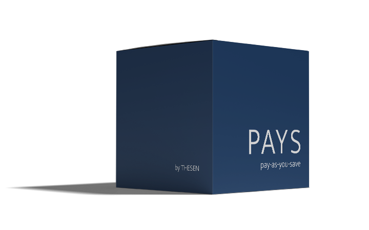 Pay as you save by THESEN